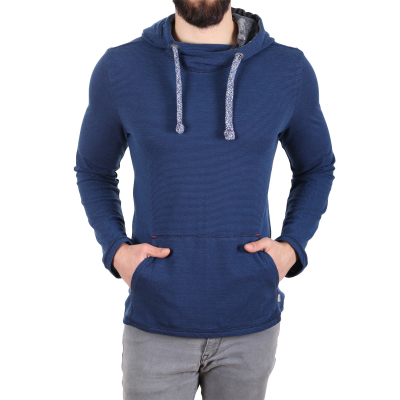 1037509.00.10 Tom Tailor Striped Herren Hoodie | 04059491101457