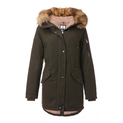 W2010SOW-KABE Sixth June Ladies Kabe Lining Fur Parka Damen Winterjacke | 03614320079621