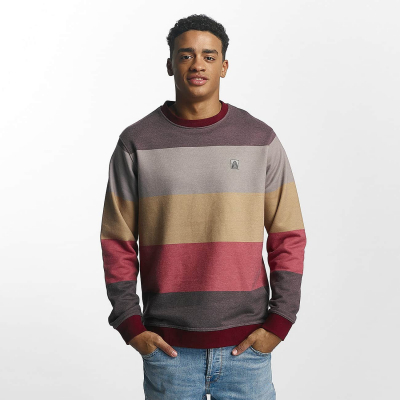 JRCN435RED Just Rhyse Seaside Herren Pullover ehrfarbig | 04059753118278