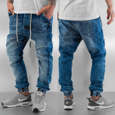 WSYJS100BLU Who Shot Ya Antifit Herren Anti Fit Jeans  Bundweite | 02001111590440