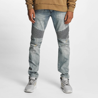 WSYJS113LBLU Who Shot Ya Scissa Herren Anti Fit Jeans  Bundweite | 04059753130881