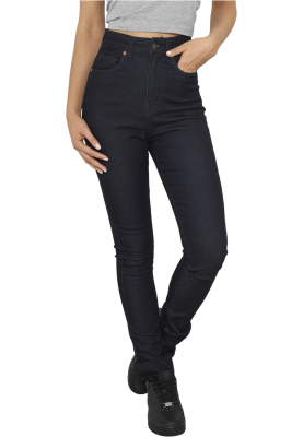 TB956 Urban Classics Ladies High Waist Denim Skinny Pants Damen Stoffhose Bundweite | 04053838082690
