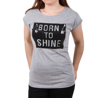 D1238O01721A Sublevel Ladies Born To Shine Damen T-shirt | 04058427350082