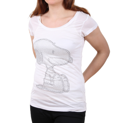 D1286Z01439B Sublevel Ladies Snoppy Logo Damen T-shirt | 04052737917423