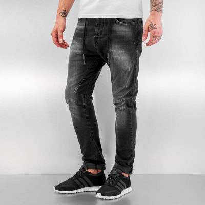 JRJS225BLK Just Rhyse Yashar Herren Anti Fit Jeans  Bundweite | 04056189218756