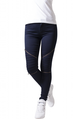 TB1215 Urban Classics Ladies Stretch Biker Pants Damen Stoffhose  Bundweite | 04053838118535