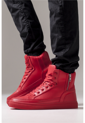 TB1271 Urban Classics Zipper High Top Shoe High-sneaker | 04053838106945