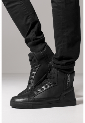 TB1271 Urban Classics Zipper High Top Shoe High-sneaker | 04053838106600
