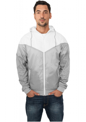 TB148 Urban Classics Arrow Windrunner Herren Windbreaker  Weiß | 04051243045682