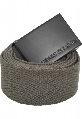 TB2172 Urban Classics Long Canvas Belt Herren Gürtel  Länge | 04053838252796