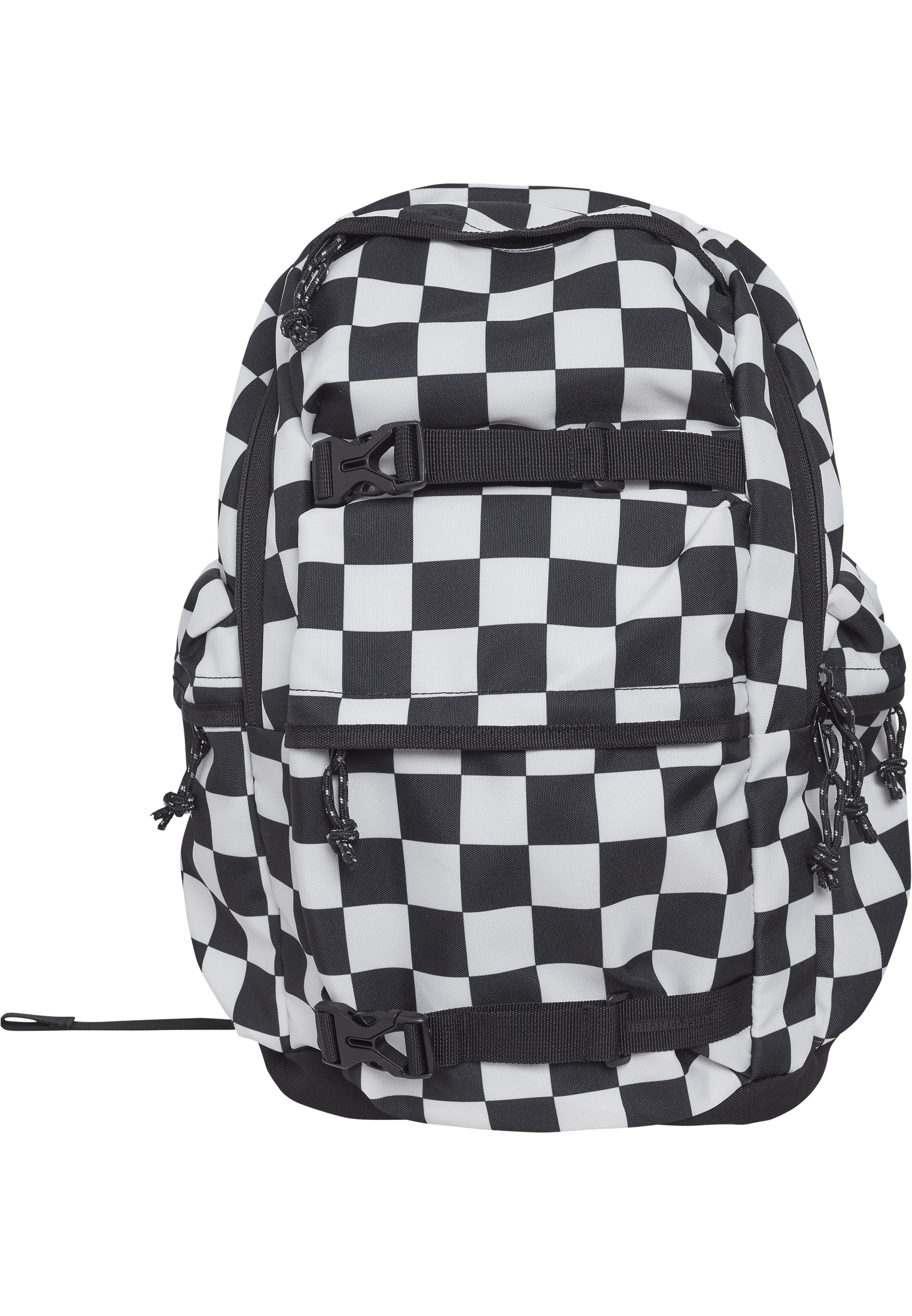 urban classics backpack checker black white herren rucksack schwarz wei 508739 bei kapatcha. Black Bedroom Furniture Sets. Home Design Ideas
