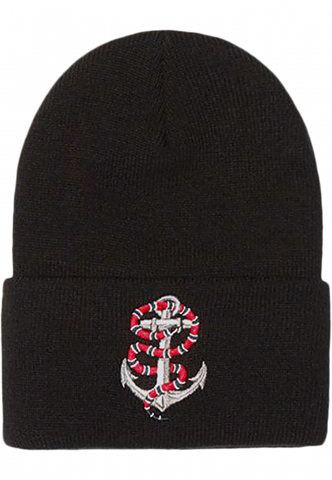 Cayler & Sons C&S WL Anchored Beanie Herren Mütze Schwarz