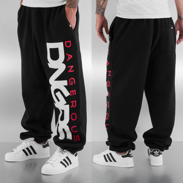 Dangerous DNGRS Classic Men Sweat Pant black