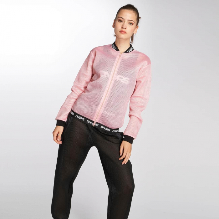 Dangerous DNGRS Vista Women College Jacket rose