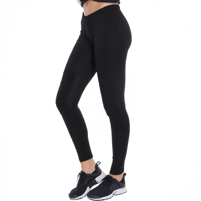 Hood Babes Damen Leggings Schwarz