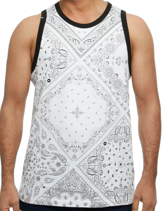 Imperious TT White Herren Tank Top Weiß