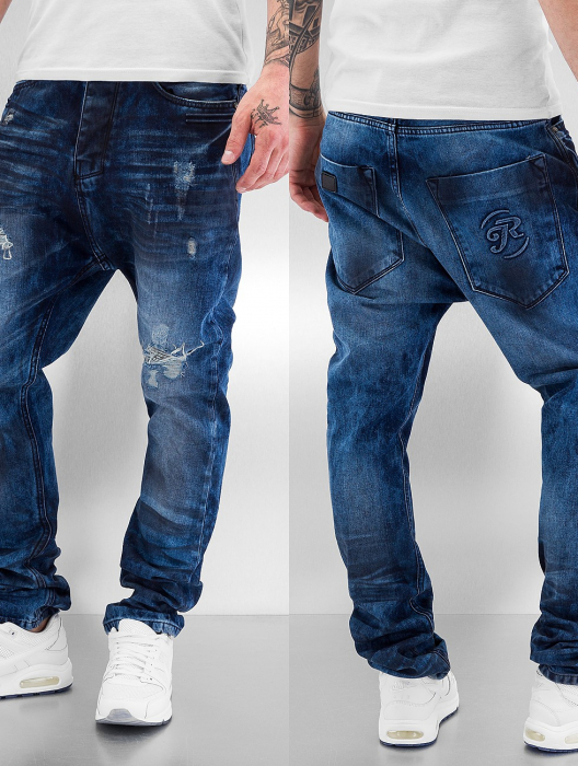 Just Rhyse Application Men Anti Fit Jeans blue