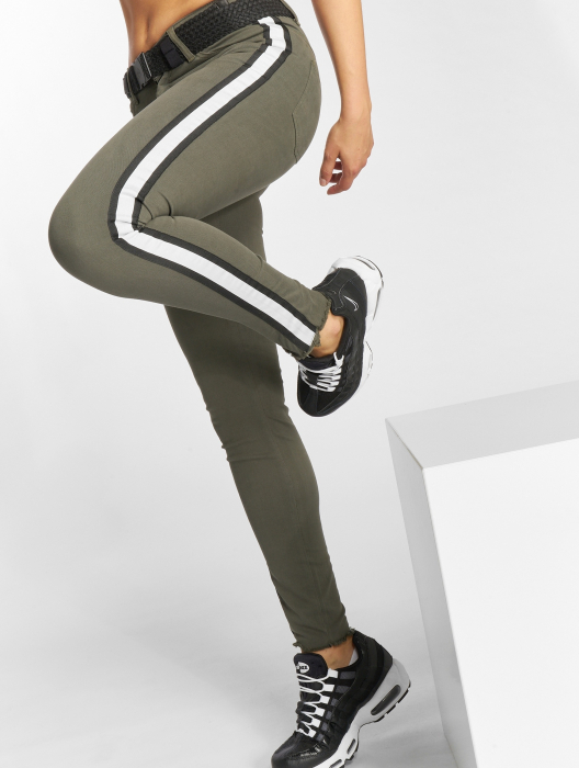 Just Rhyse Giny Damen Jeans Olive