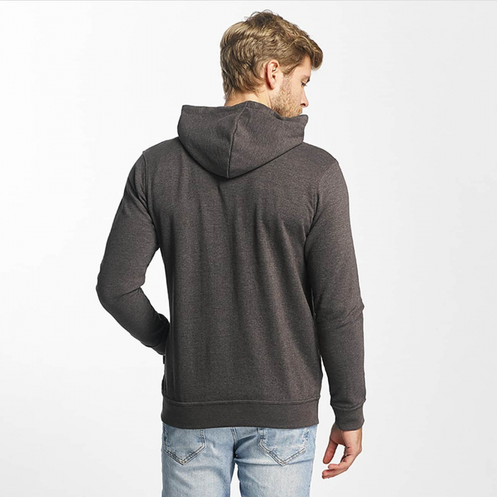 Just Rhyse Hoonah Men Zip Hoody grey