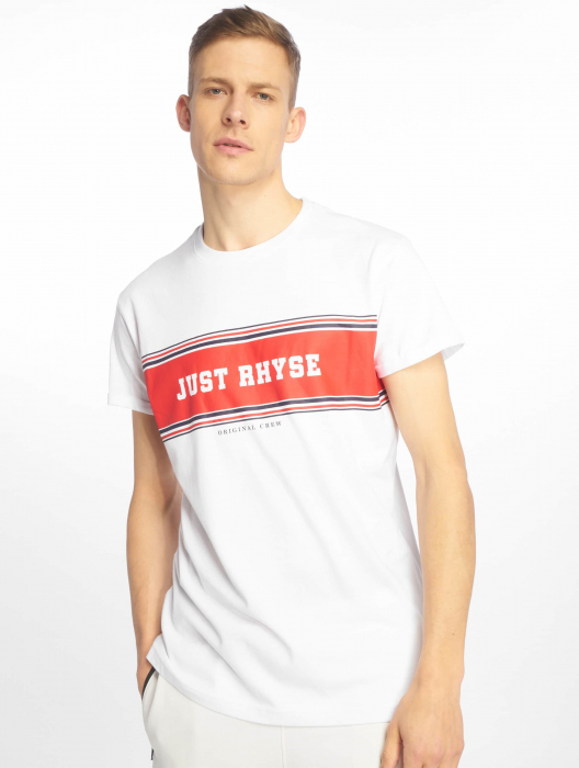 Just Rhyse Key Largo Herren T-Shirt Weiß