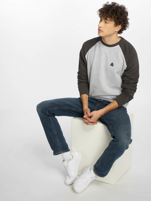 Just Rhyse Raglan II Men Sweatshirt grey