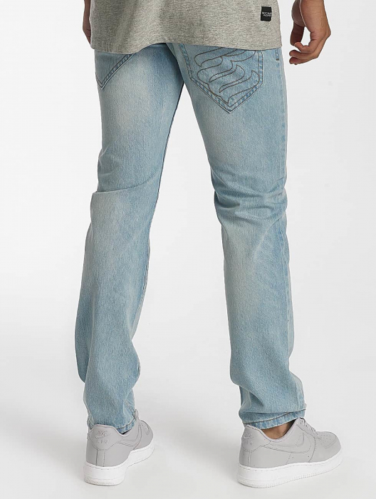 Rocawear Relax Fit Herren Straight Fit Jeans Blau