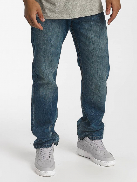 Rocawear Tony Fit Men Straight Fit Jeans blue