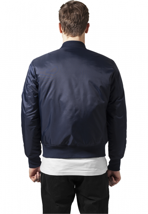 Urban Classics Basic Men Bomber Jacket navy