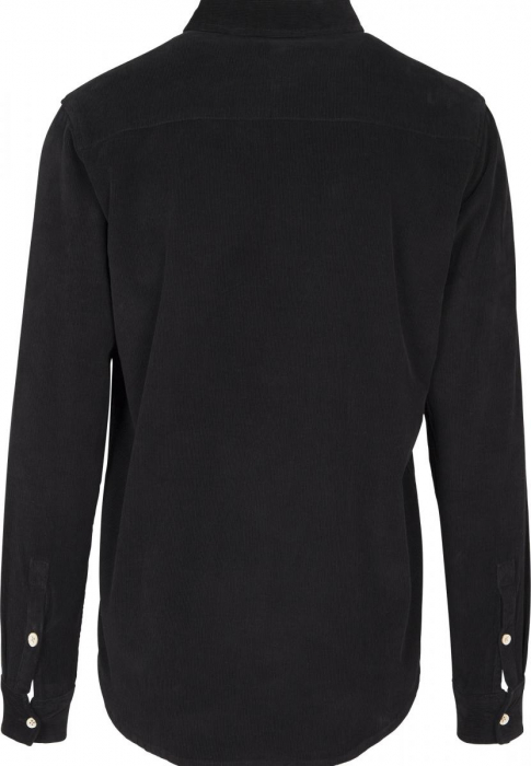 Urban Classics Corduroy Men Shirt black