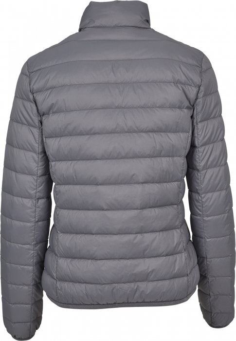 Urban Classics Ladies Basic Down Damen Übergangsjacke Dunkelgrau