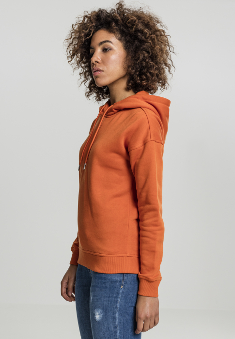 Urban Classics Ladies Damen Kapuzenpullover Orange