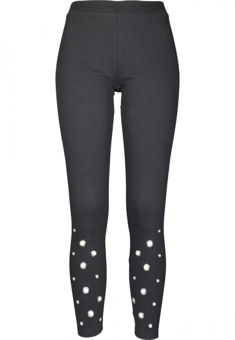 Urban Classics Ladies Eyelet Damen Leggings Schwarz