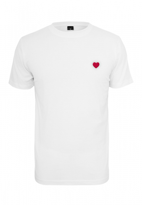 Urban Classics Ladies Heart Tee Women T-Shirt white