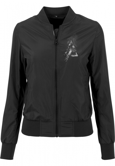 Urban Classics Ladies Linkin Park Women Bomber Jacket black