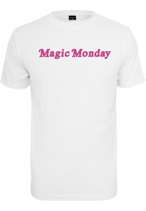 Urban Classics Ladies Magic Monday Slogan Tee Damen T-Shirt Weiß