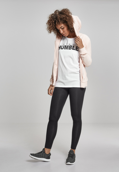 Urban Classics Ladies Stay Humble Tee Damen T-Shirt Weiß
