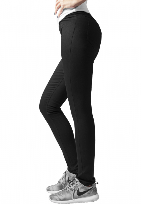 Urban Classics Ladies Treggings Women Leggings black