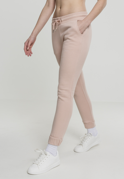 Urban Classics Ladies Women Sweat Pant rose