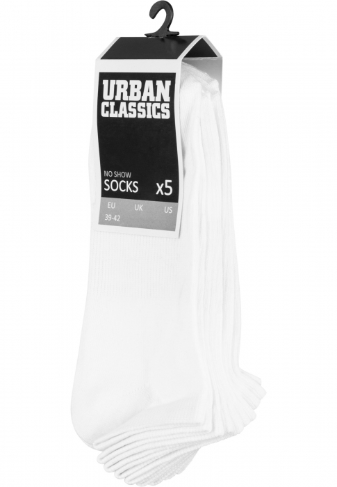 Urban Classics No Show Socks -Pack Herren Socken Weiß