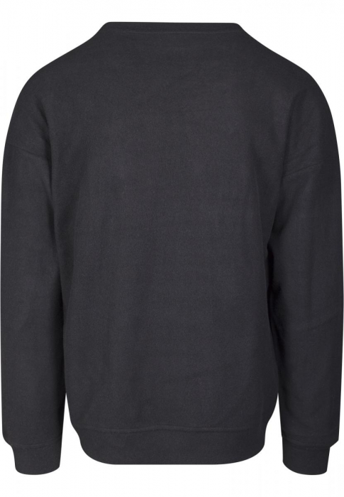 Urban Classics Polar Fleece Crew Men Sweatshirt black