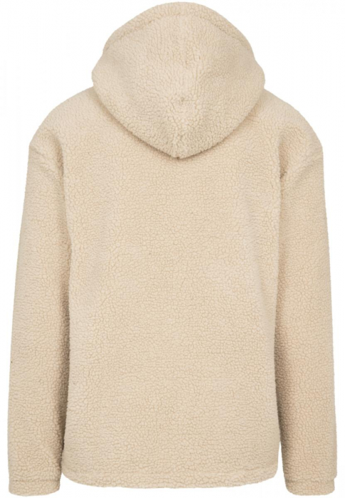 Urban Classics Sherpa Pull Over Men Hoodie light brown