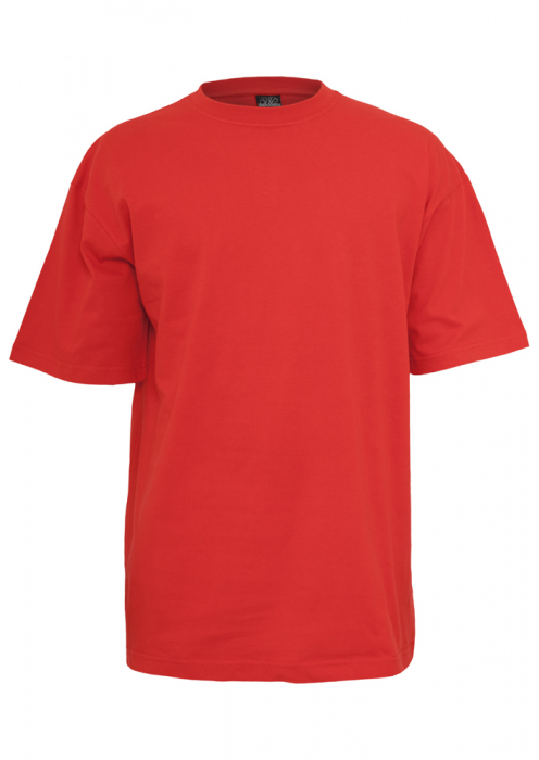 Urban Classics Tall Tee Men T-Shirt red