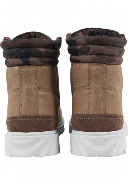 Urban Classics Winter Boots Boot Beige Camouflage