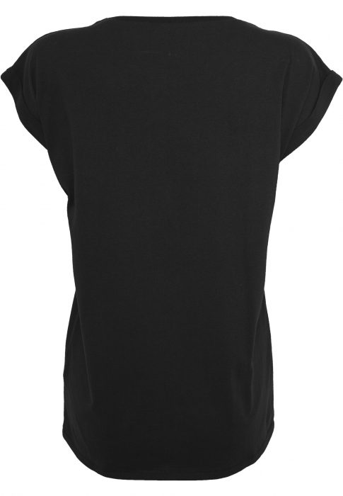 Wu-Wear Ladies Wu-Wear Logo Damen Bluse Schwarz