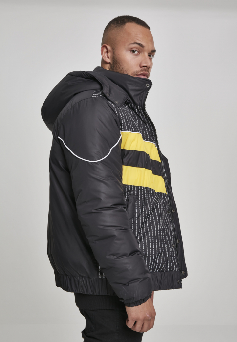 Wu-Wear Wu-Wear Puffer Men Winter Jacket black